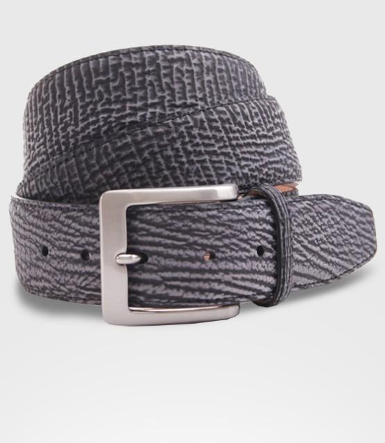 Cintura in pelle di Squalo Cm. 3.5