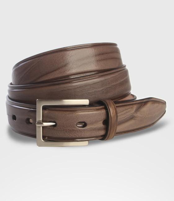 striped leather belt bull cm 4 mario doni