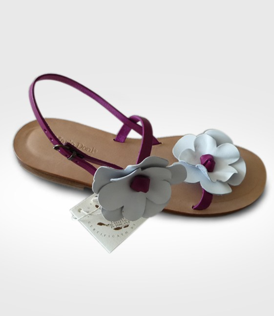 Sandalo Pescia da Donna realizzato da Barbara