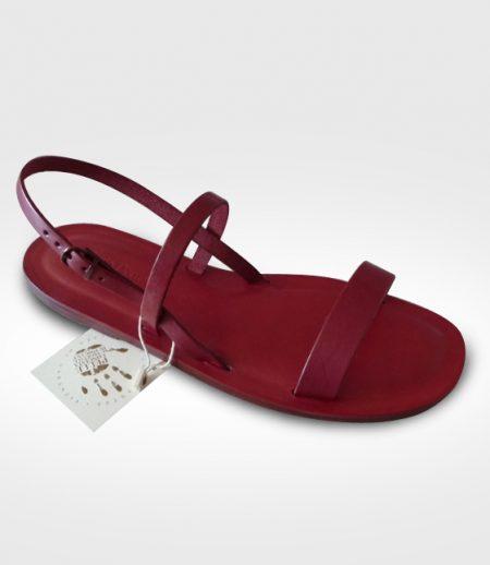 Sandalo Anghiari da Donna realizzato da Lucrezia