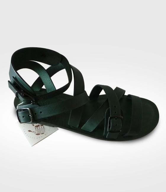 Sandalo Calci mod. Gladiatore da Donna in cuoio Flex realizzato per VIOLETTA