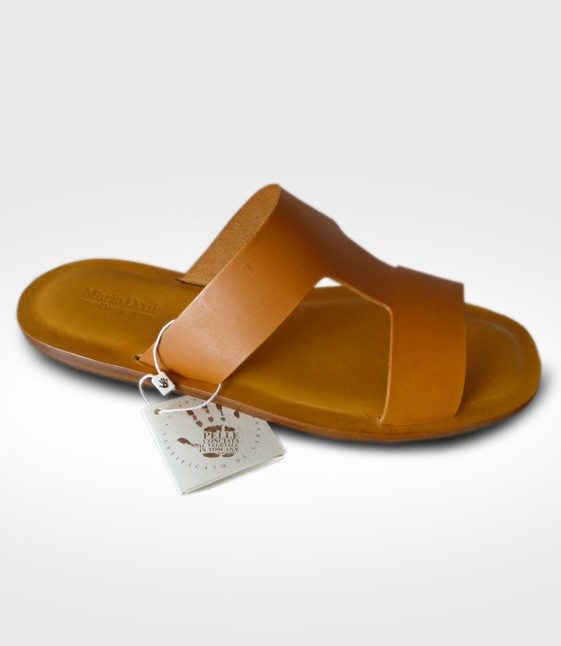 Sandal Colonnata for Man realized by Luca