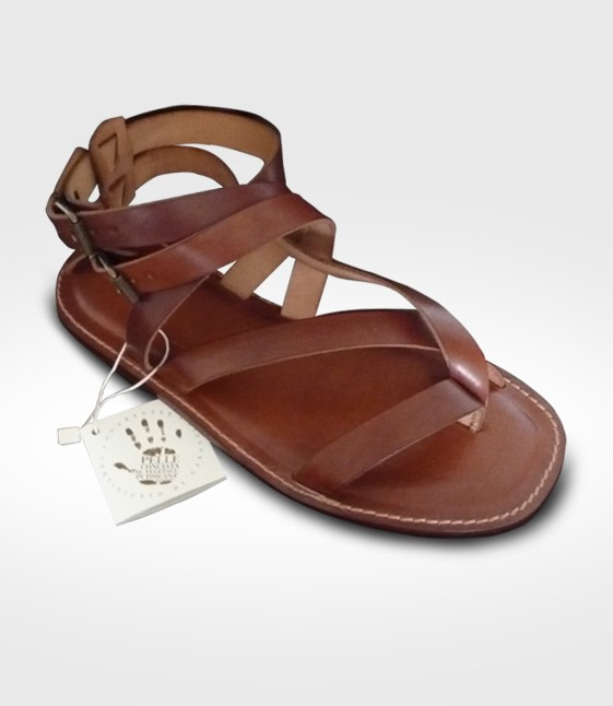 Sandal Arezzo for Man realized by Roberto