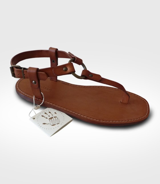 Sandal Barberino for man realized by attiw