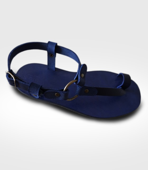 Sandal Capoliveri mod. flip-flops for Man in leather flex  for paolo