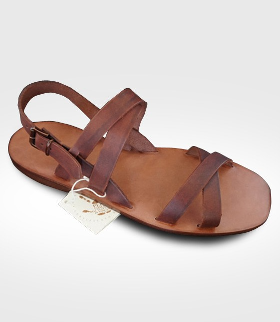 Sandal Etruria mod. Franciscan for Man in leather Flex realized for Stefano58