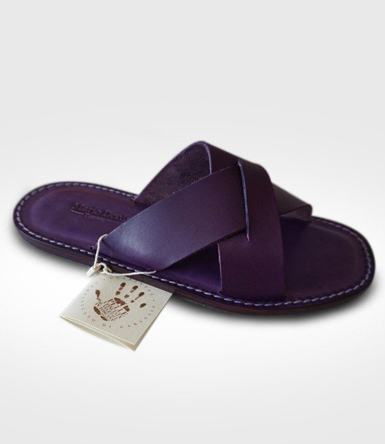 Sandal Montalcino for Man in leather Flex realized by 258