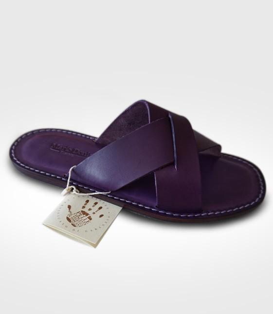 Sandalo Montalcino da Uomo in cuoio Flex realizzato per 258