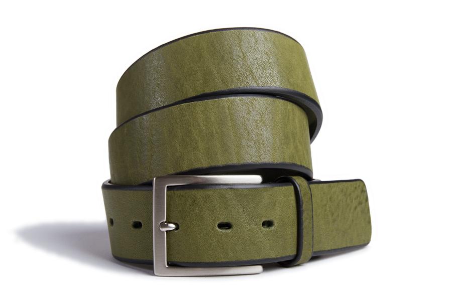 bull milled leather belt cm 3 5 mario doni