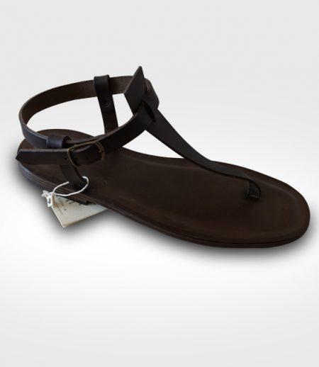 Sandalo Cutigliano mod. Infradito da Uomo in cuoio Flex realizzato per ghila