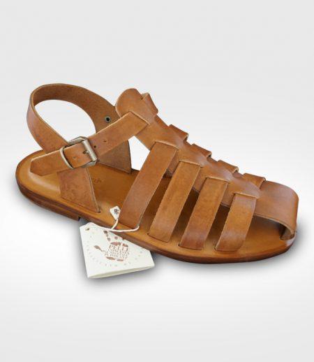 Sandalo San Gimignano da Uomo in cuoio Flex realizzato per Salvo