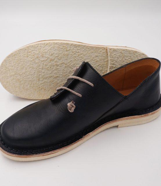 17 scarpa donna mod. 01 blu effetto perla 01 (5)
