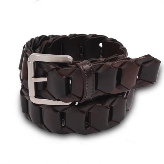 cintura intrecciata tondino grande t. di moro(3)