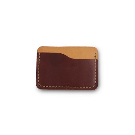 "Card holder in leather ""Machiavelli"""