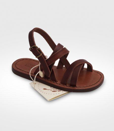 Sandalo Etruria da Bambino realizzato per Bubi