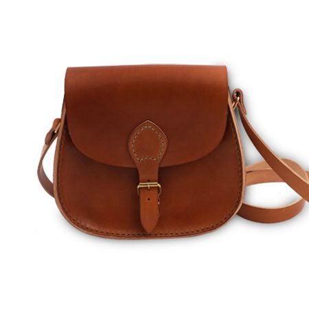 "Handmade Bag in Real leather ""Tolfa"" medium"