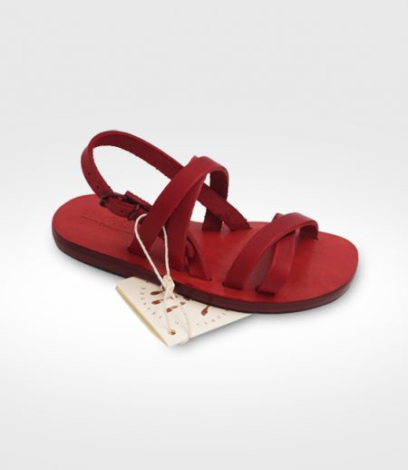 Sandal Etruria for child  realized for Noa-Micael