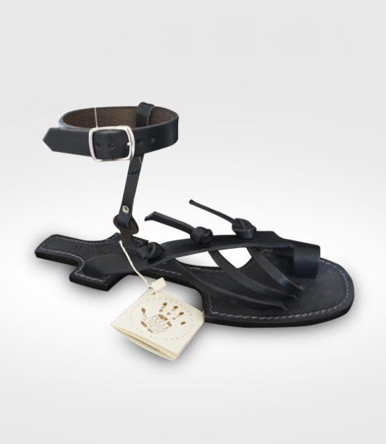 18 barefoot mod. 09 con soletto cucito - nero