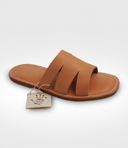 Sandal Livorno Manin leather flex realized for Paride