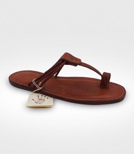 Sandalo Fivizzano da Uomo in cuoio Flex realizzato per Fedon