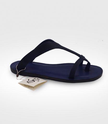 Sandale Torrita mod. Flip-Flops Frau in Leder Flex realisiert für Michi