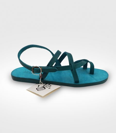 Sandal Vinci mod. Franciscan Woman in leather Flex realized for Dana