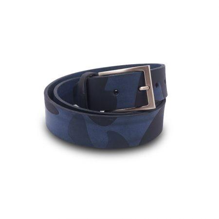 Cintura cuoio Mod. Mimetico altezza 3.5 cm