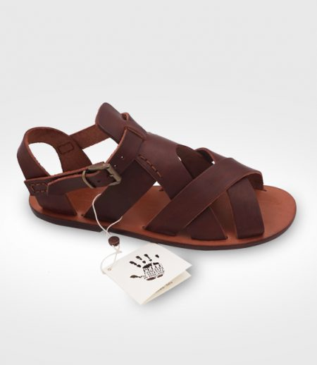 Sandal Monteroni Woman realized for Lisa