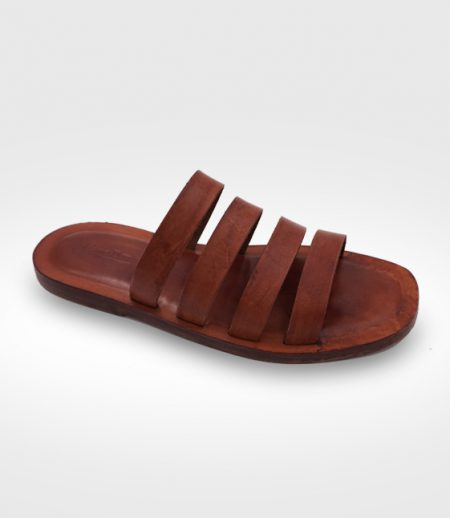 Sandalo Chiusi da Uomo in cuoio Flex realizzato per Riccardo