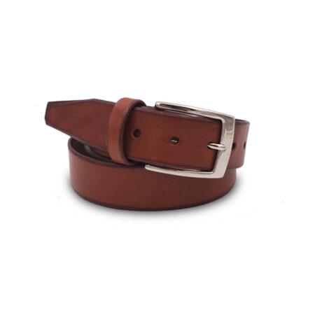 Cintura cuoio Mod. G24 altezza 3.5 cm