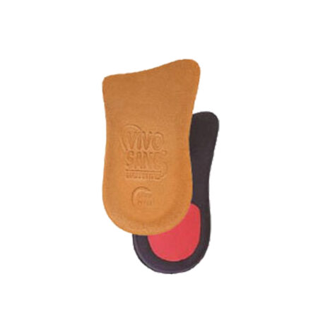 Antishock Heel in Real Leather